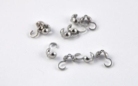 Crimp beads, bead tips