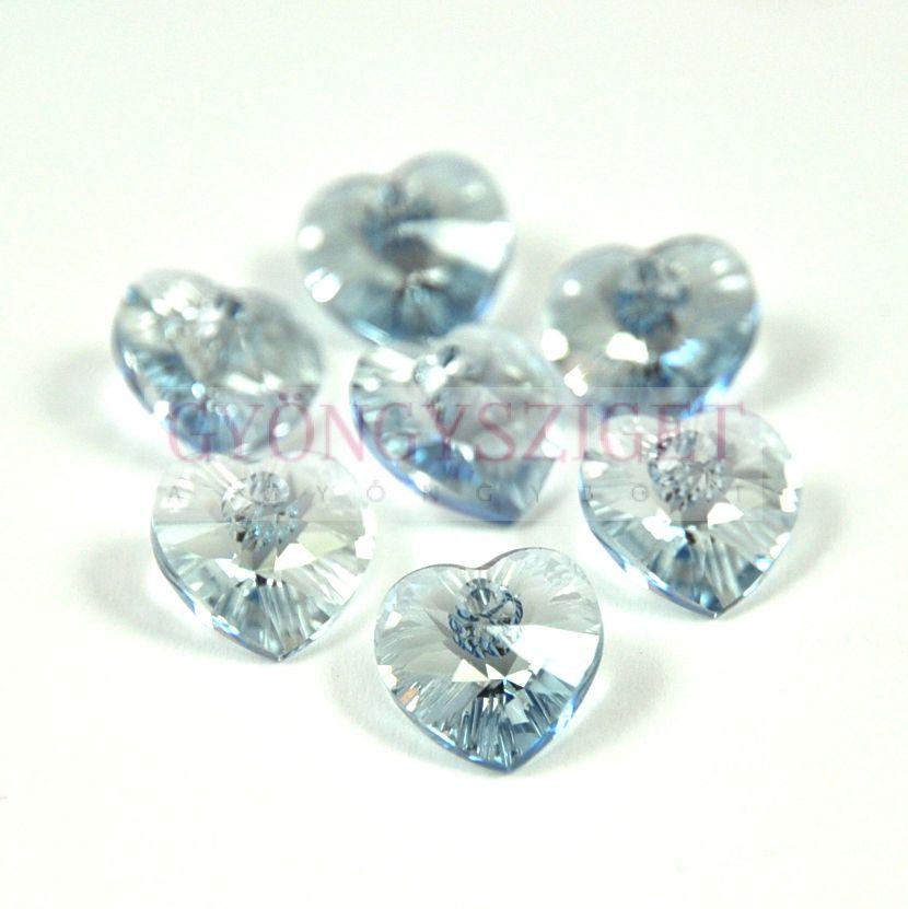 Swarovski fűzhető szív 10.3x10.0 mm - crystal blue shade